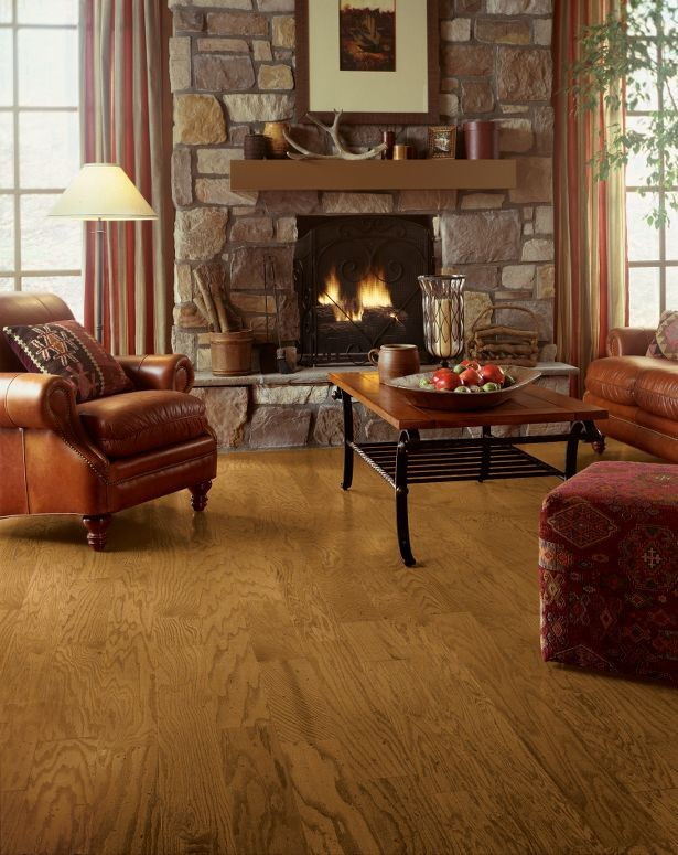 Bruce American Originals Oak Lock&Fold Hardwood Flooring