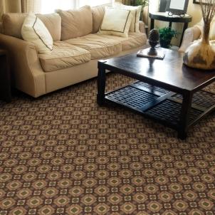 Orvieto Crimson - Stanton Woven Carpet