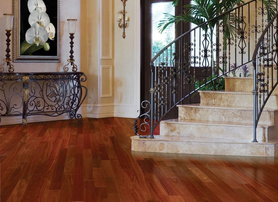 Santos Mahogany IndusParquet Solid Hardwood Flooring