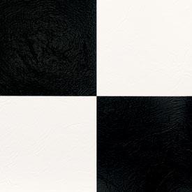 Square Deal - Infinity Black and White - Sheet Vinyl Flooring By Tarkett