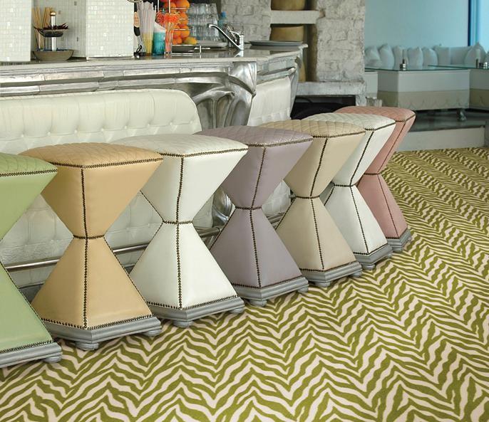 Zesty Zebra - Shaw Philadelphia - Commercial Carpet