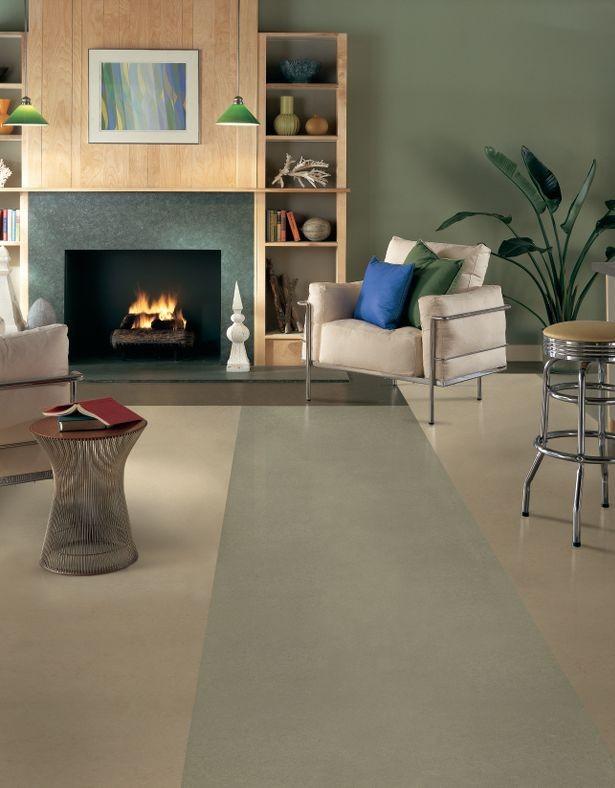 linoleum is back and better than ever georgia carpet ind. Black Bedroom Furniture Sets. Home Design Ideas