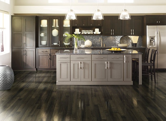 Black Hardwood Flooring Unique and Stunning!  Georgia Carpet