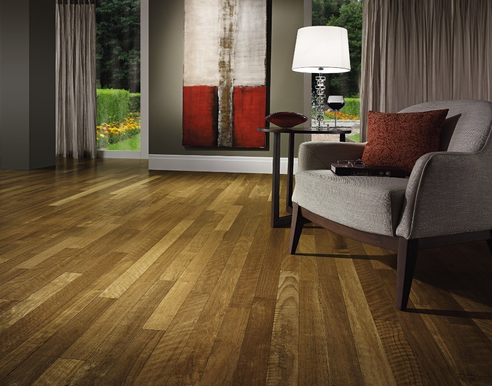 Hardwood flooring layout direction makes a difference for Ash hardwood flooring