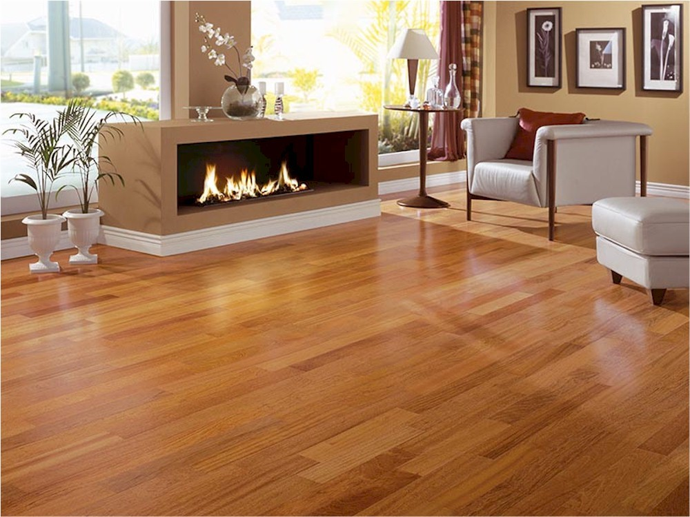 Hardwood Floor Layout photo 1 establishing the layout Brazilian Cherry Trangulo Exotic Solid Hardwood Flooring