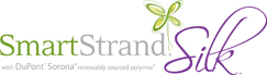 SmartStrand Silk logo